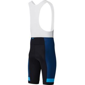 Shimano Team Bib Shorts Herr blå/svart